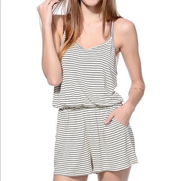 a8a5cc7d852e Empyre Pants - Empyre black and white stripe super soft romper